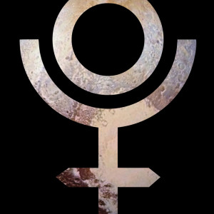 Astrological symbol for Pluto