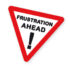 frustration ahead